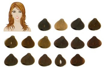 kobieta wiosna paleta kolorów włosów