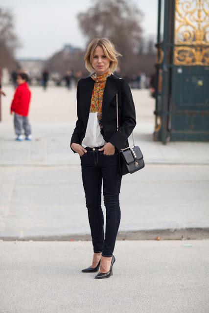 dress like a Parisian girl