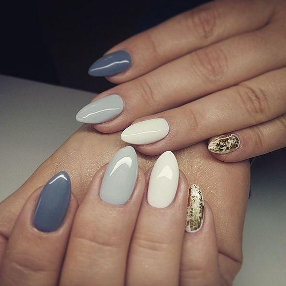manicure kolorowy