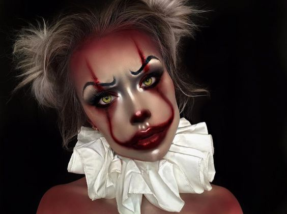 makijaż joker