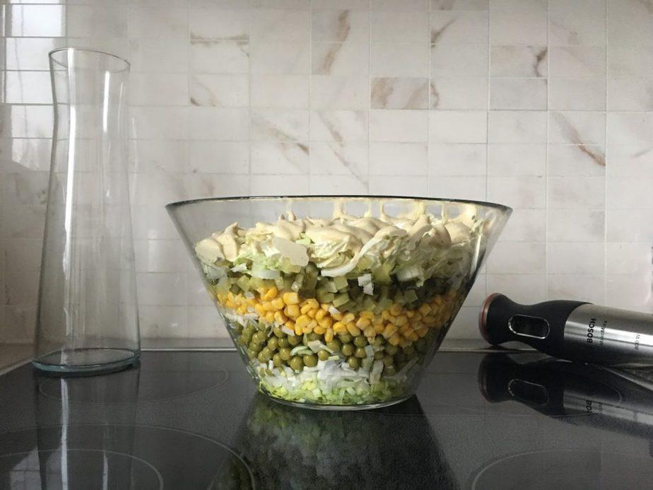 wegańska sałatka