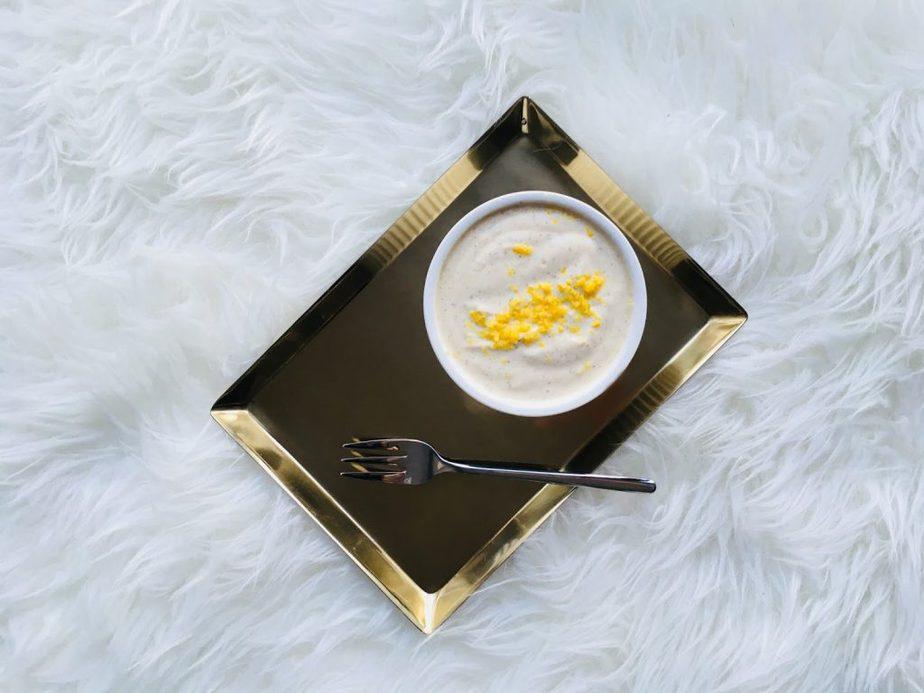Weganski Serek Waniliowy Z Silken Tofu Prosty Przepis D P Blog