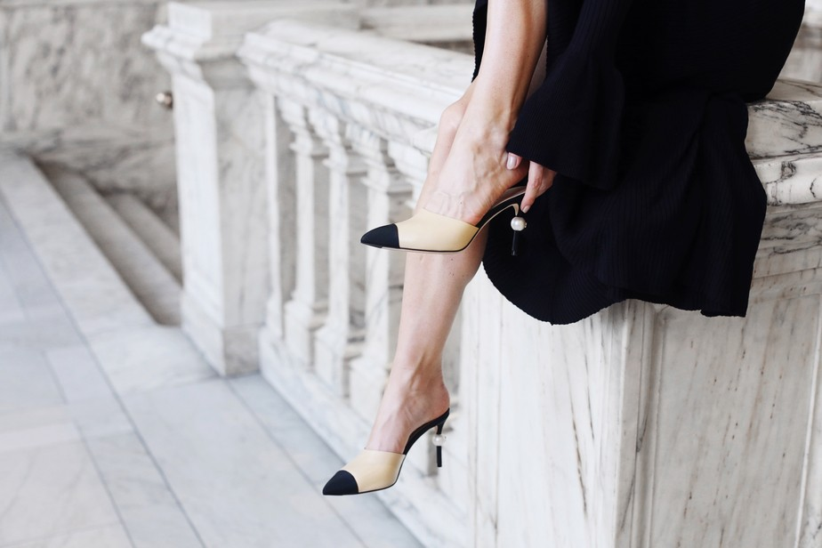 5eed19f170786 Beżowo-czarne buty Chanel i ich tańsze odpowiedniki | D&P Blog