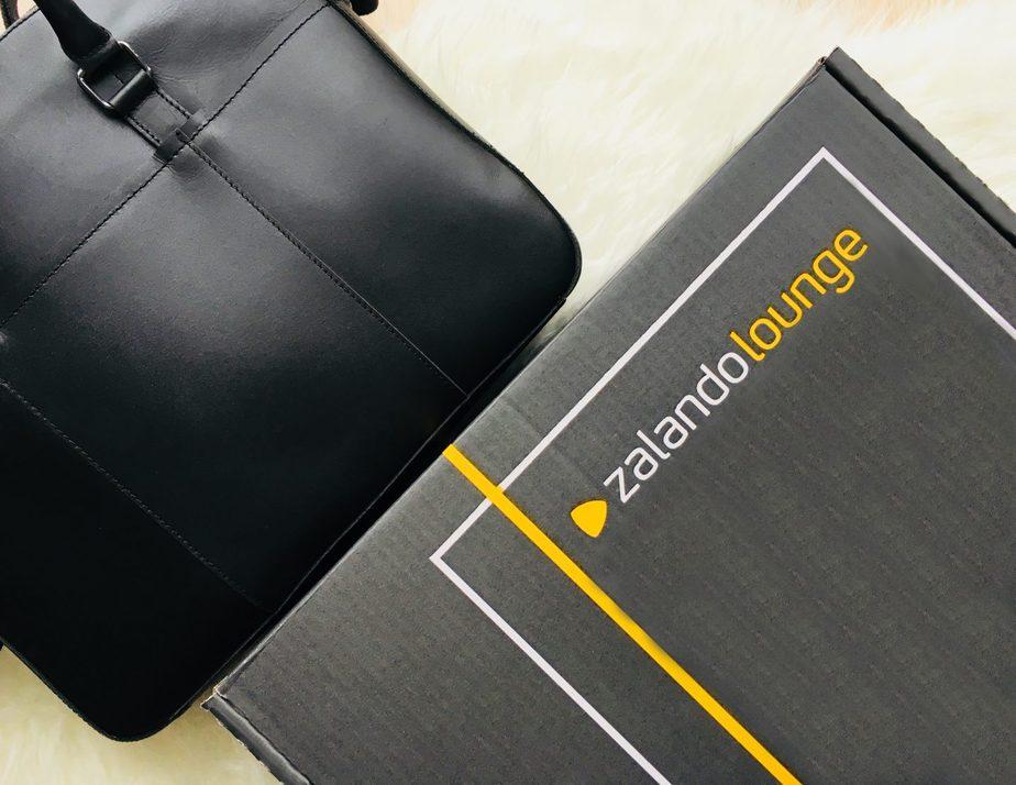 czarna torba z Zalando Lounge