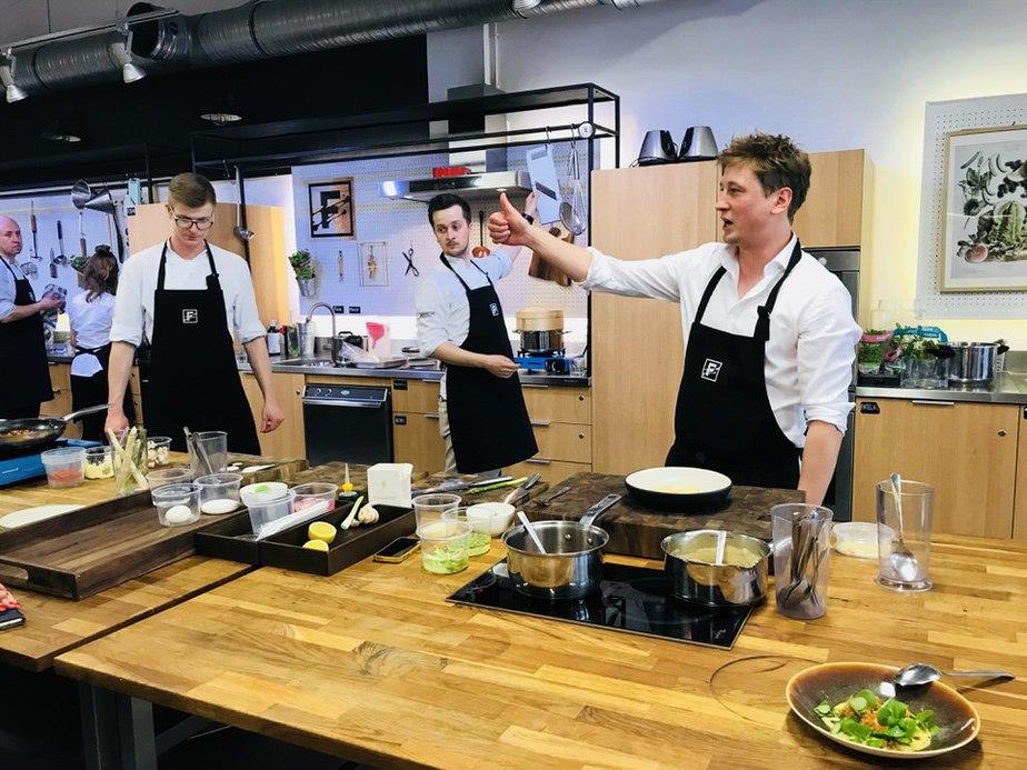 food lab studio grzegorz lapanowski - Warsztaty kulinarne w Food Lab Studio w Warszawie