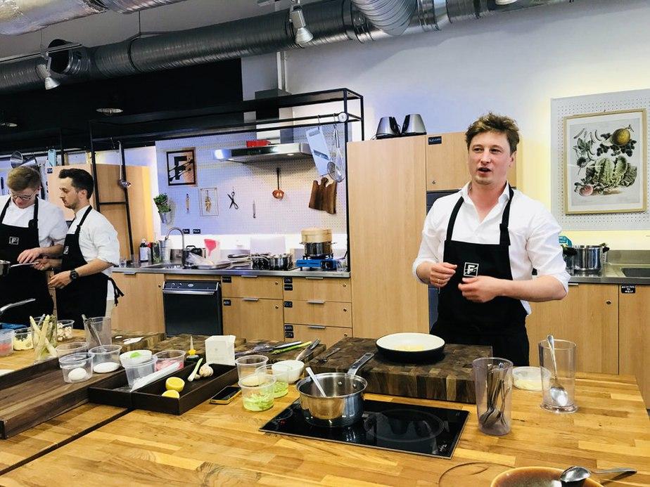 lapanowski grzegorz warsztaty kulinarne - Warsztaty kulinarne w Food Lab Studio w Warszawie