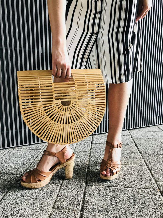koszyk drewniany