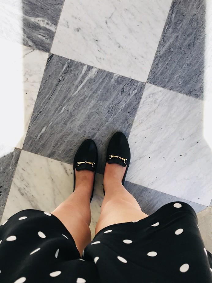 marmurowa podłoga