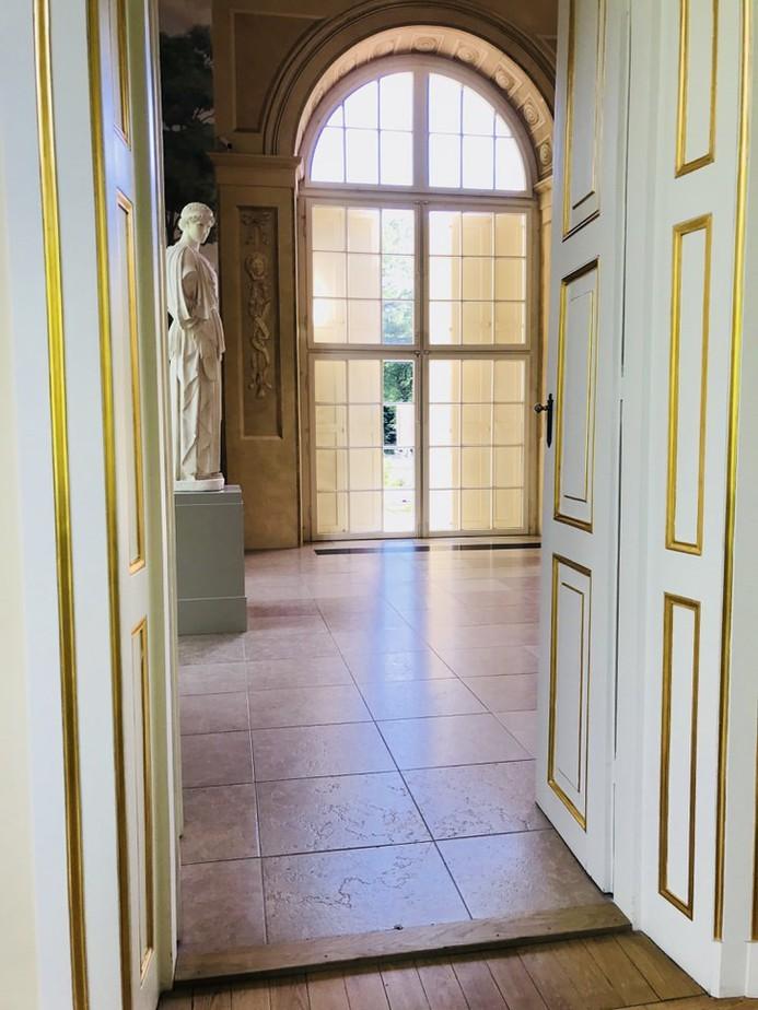 stara oranżeria łazienki królewskie