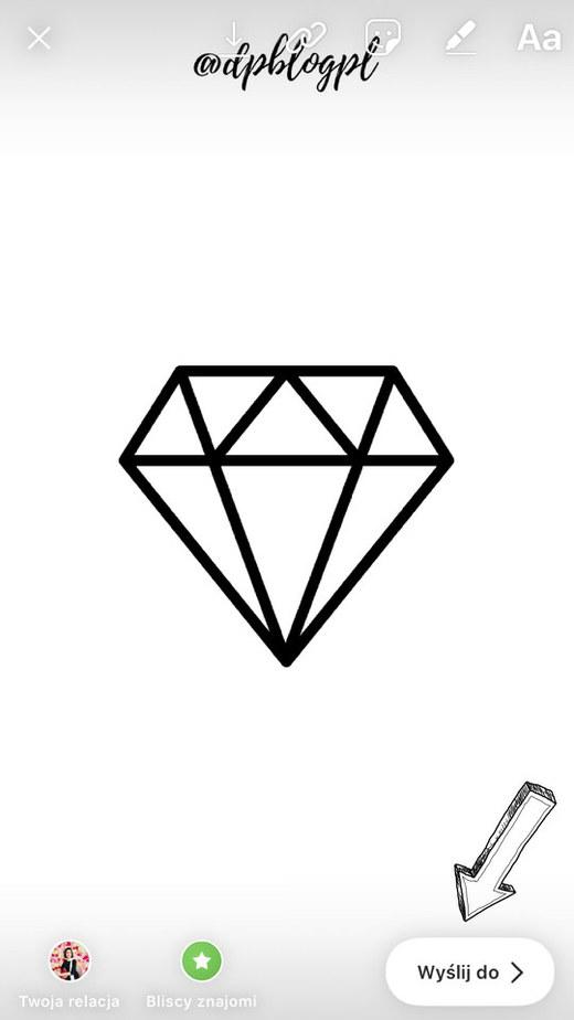 ikonki do relacji na instagramie krok 4 - Ikonki na IG - jak dodać ładne wyróżnione relacje