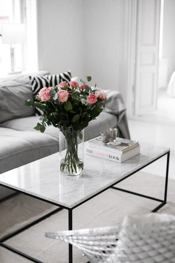 marble table inspiration