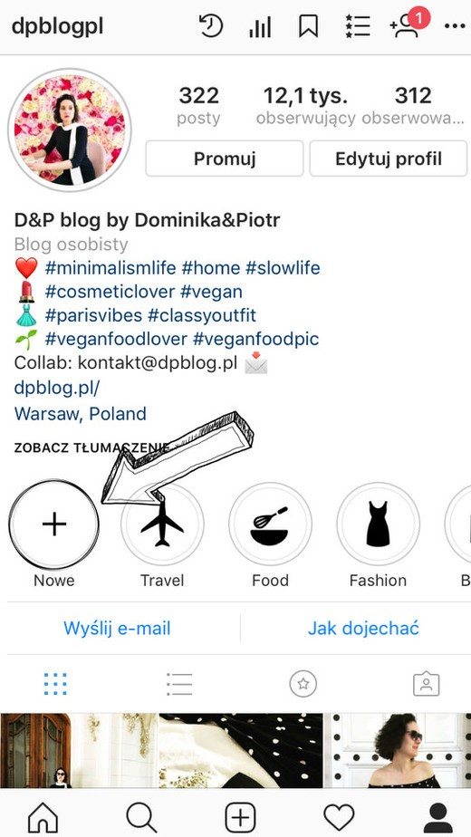 tworzenie ikonek wyroznienia na instagram krok 6