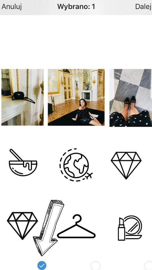 tworzenie ikonek wyroznienia na instagram krok 7 - Ikonki na IG - jak dodać ładne wyróżnione relacje