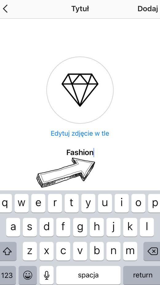 tworzenie ikonek wyroznienia na instagram krok 8