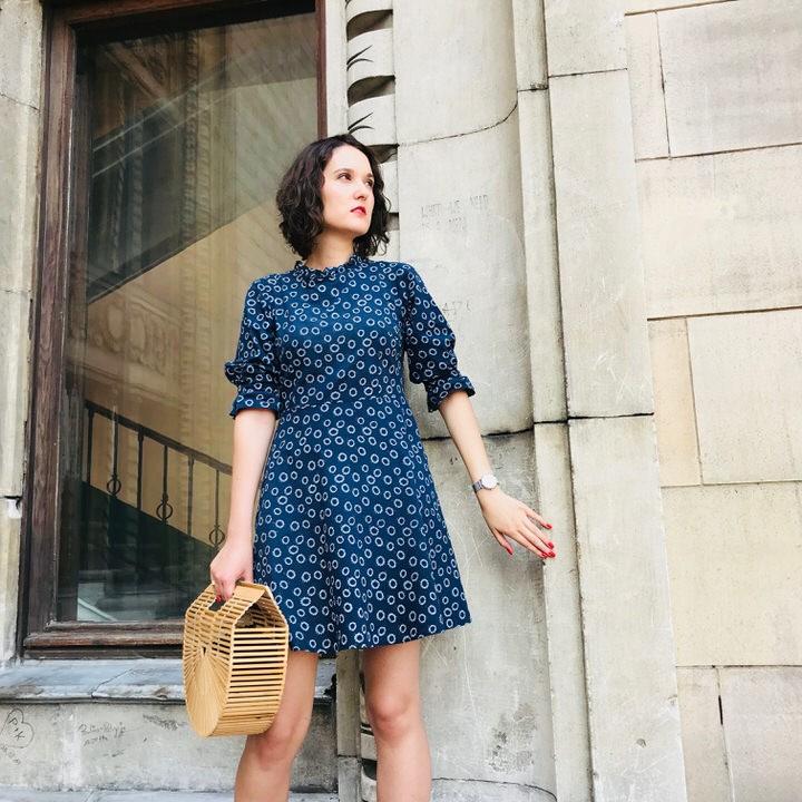 Bawełniana sukienka na lato