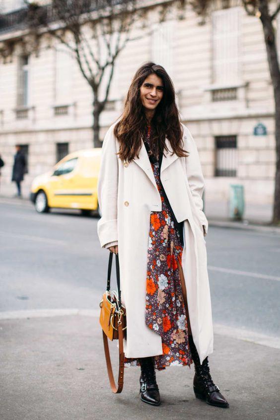 jak nosić sukienki jesienią