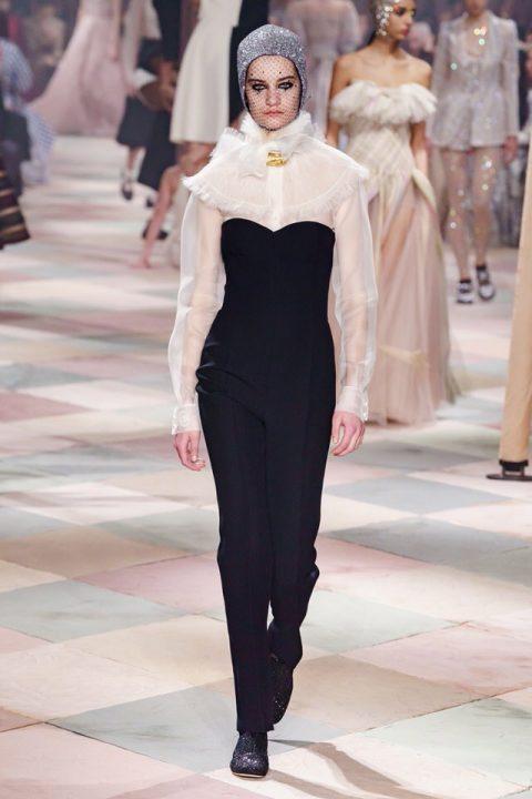 stylizacja dior haute couture