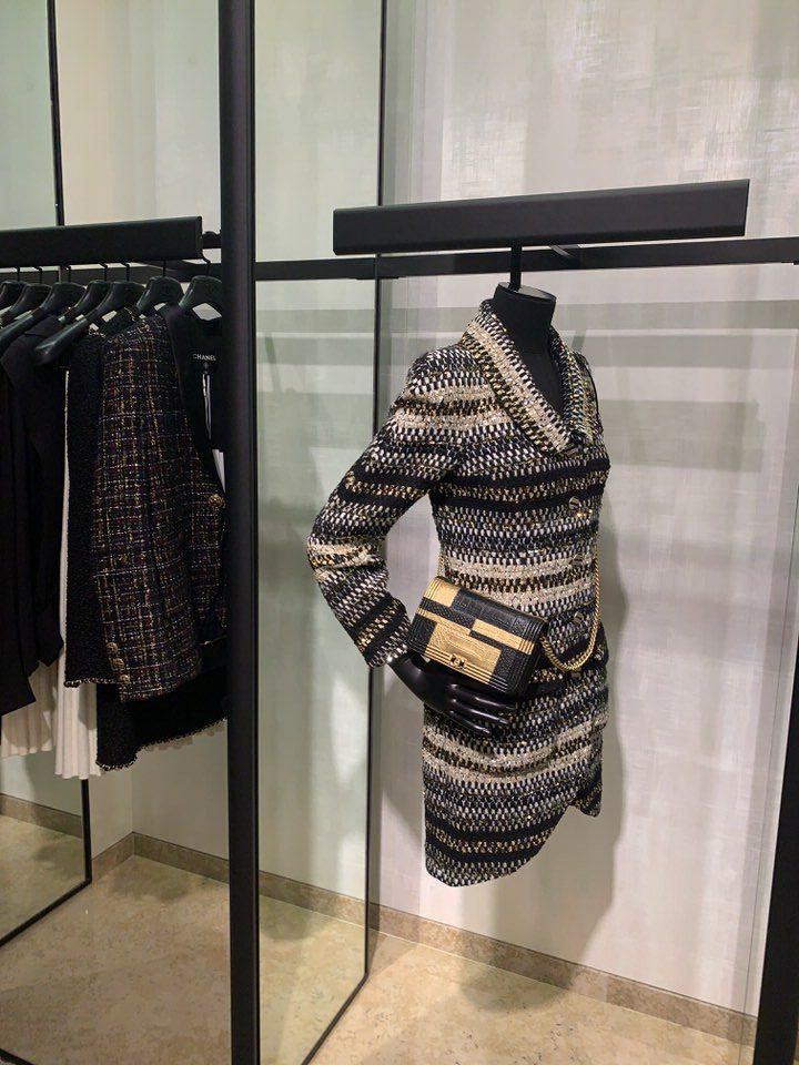chanel boutique florence coat