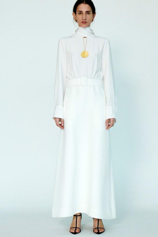 prosta sukienka biała