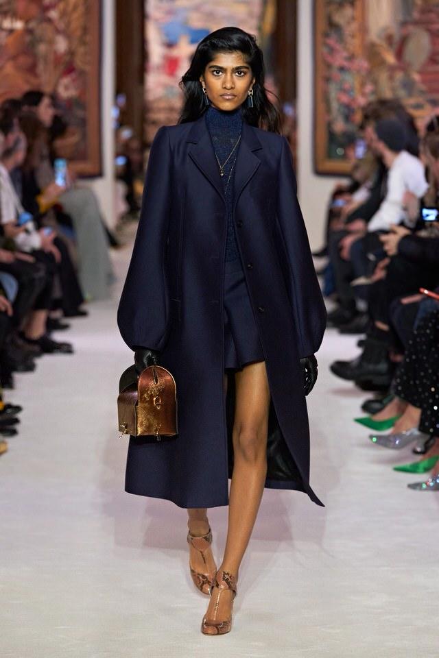 classic navy blue coat