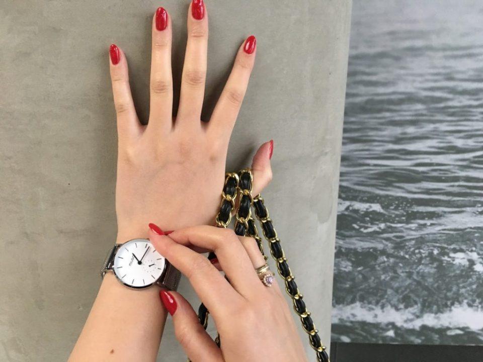 damski zegarek srebrny