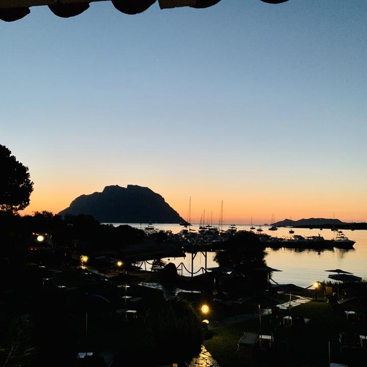 Zachód słońca Sardynia